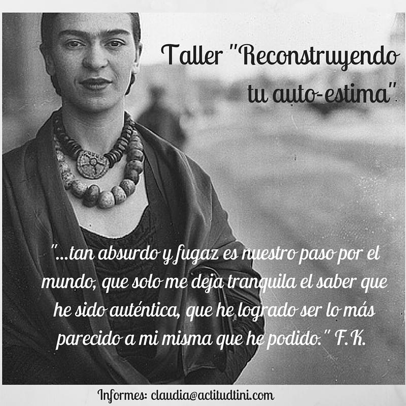 Taller -Reconstruyendo la autoestima- (1)